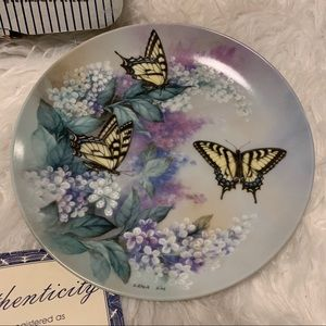 Western Tiger Swallowtail Collectors Plate